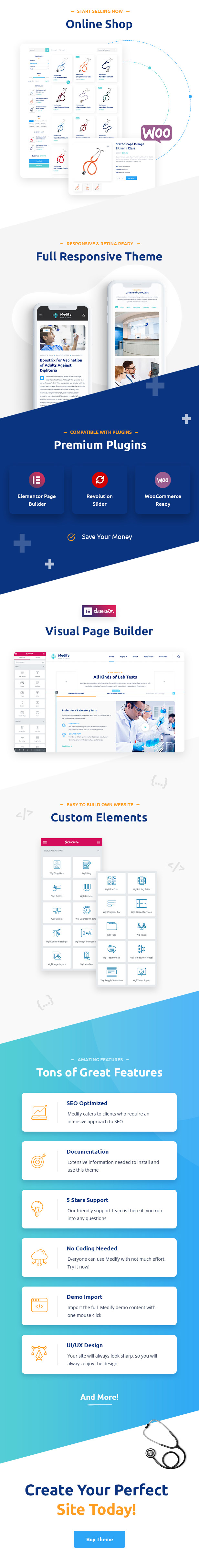 Medify - Health & Clinic WordPress Theme - 2